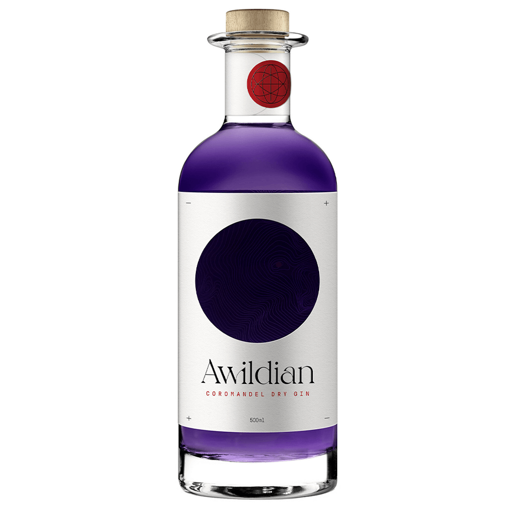 Awildian Coromandel Dry Blue Gin